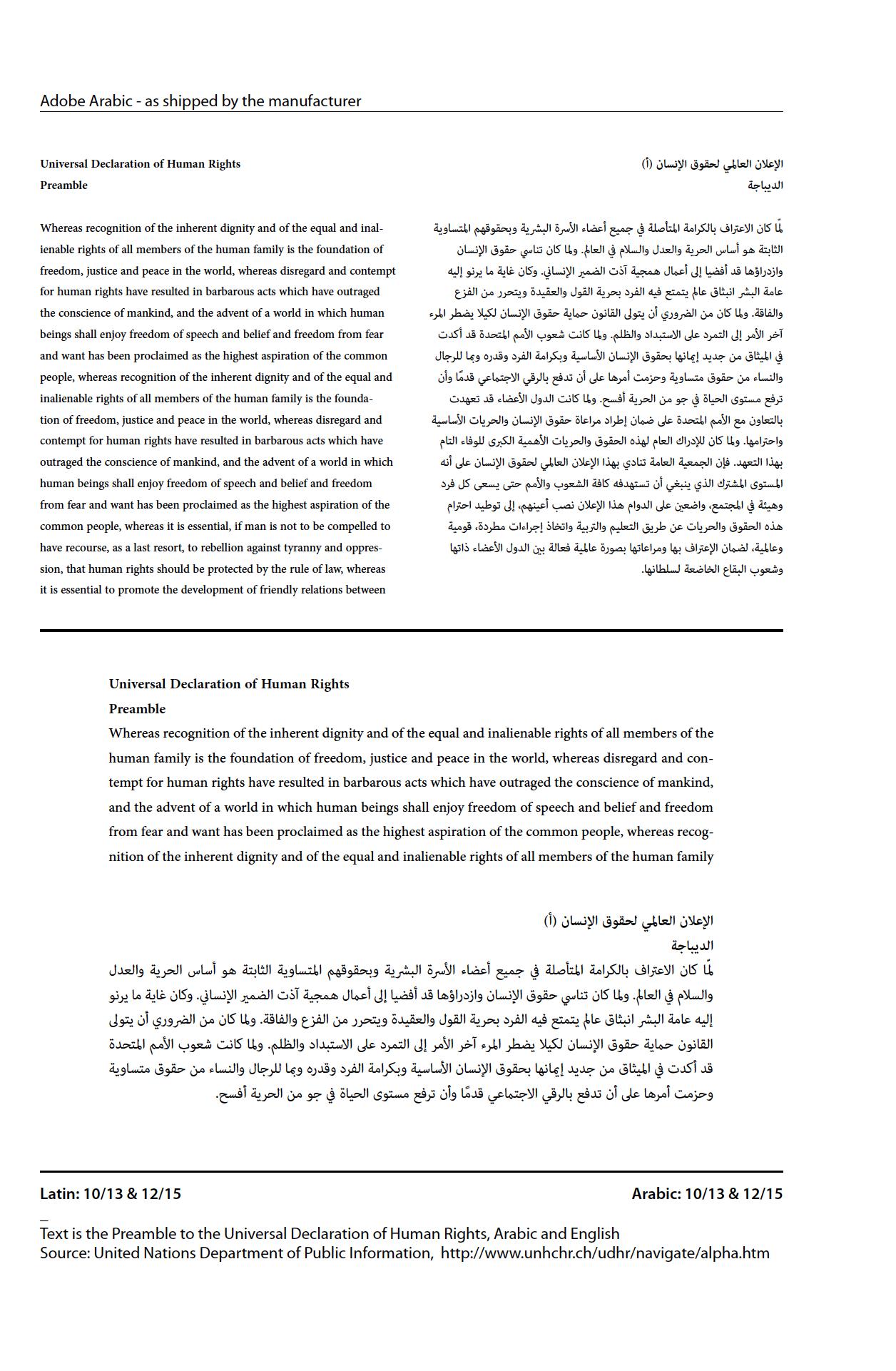 Harmonization of Arabic and Latin Script – Sahar Khajeh